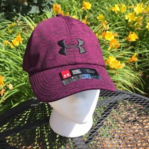 Women's wine color Under Armour Hat